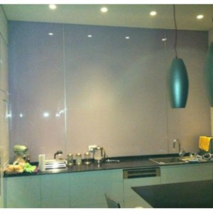 חיפוי זכוכית למטבח אקסטרה קליר